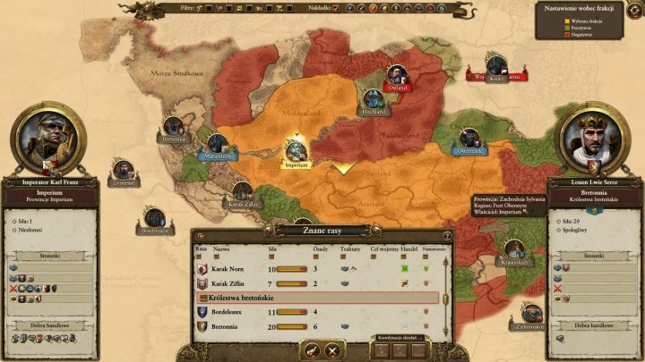 Zanim wybierzesz się na wojnę z którąś frakcją warto odpowiednio zabezpieczyć własne włości - Przygotowania - Wojna - Total War: Warhammer - poradnik do gry