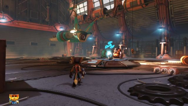 Po rozpoczęciu rozgrywki czeka cię długa scena przerywnikowa, która wprowadzi cię w realia gry, Gdy dobiegnie końca, zyskasz wreszcie kontrolę nad głównym bohaterem - Planeta Veldin - Opis przejścia - Ratchet & Clank - poradnik do gry