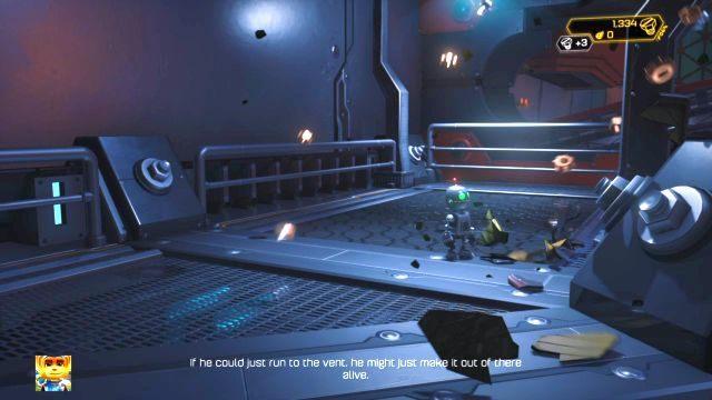 Etap ten aktywuje się zaraz po tym, jak zakończysz trening Ratcheta - Planeta Veldin - Opis przejścia - Ratchet & Clank - poradnik do gry
