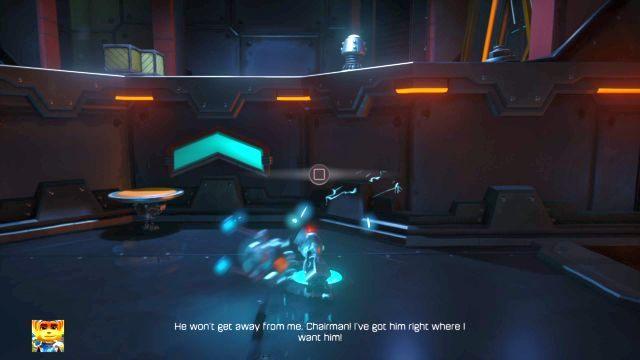 Tutaj dla odmiany są dwa znane ci już roboty - Planeta Veldin - Opis przejścia - Ratchet & Clank - poradnik do gry