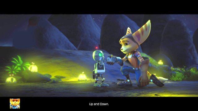 Bohaterowie wreszcie są razem, a twoim celem będzie po prostu wrócić do garażu, w którym miejsce miał początek gry - Planeta Veldin - Opis przejścia - Ratchet & Clank - poradnik do gry
