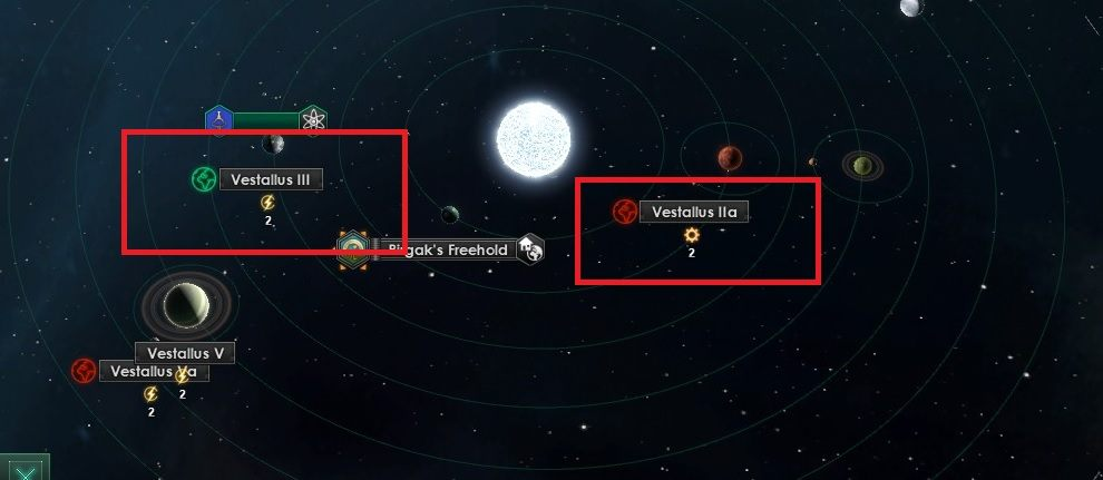 Statek badawczy w toku badań może odkryć planety, które można skolonizować - Zajmowanie układów i kolonizacja planet   Dobry start w Stellaris - Stellaris - poradnik do gry