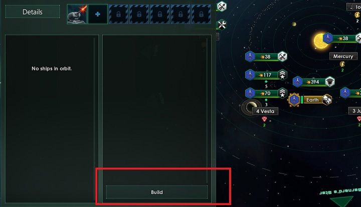 Pierwszy krok to budowa statku kolonizacyjnego - Zajmowanie układów i kolonizacja planet   Dobry start w Stellaris - Stellaris - poradnik do gry