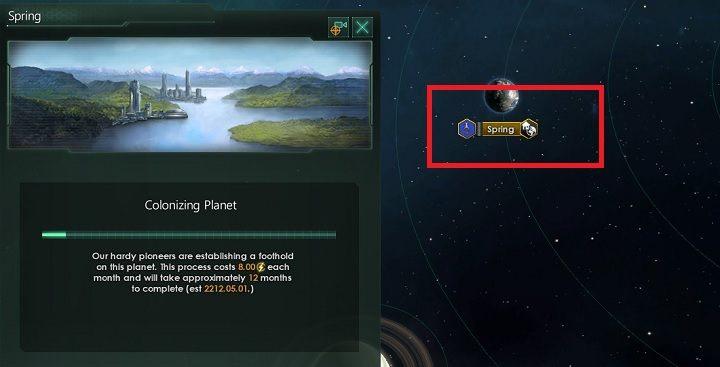 Wraz z rozpoczęciem kolonizacji, znacznie wzrośnie zapotrzebowanie na kredyty energetyczne - Zajmowanie układów i kolonizacja planet   Dobry start w Stellaris - Stellaris - poradnik do gry