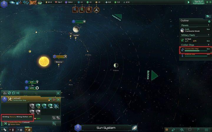 Jednym ze źródeł uzyskiwania surowców są anomalie - Rozwój imperium w 4 prostych krokach   Dobry start w Stellaris - Stellaris - poradnik do gry