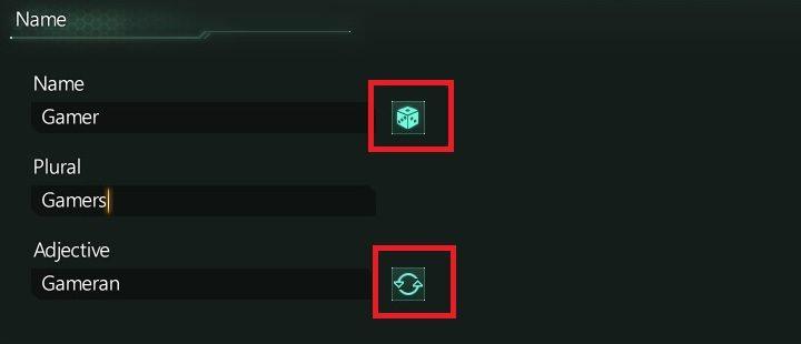 Następny krok to ustalenie nazwy gatunku - Kreator tworzenia frakcji   Frakcje w Stellaris - Stellaris - poradnik do gry