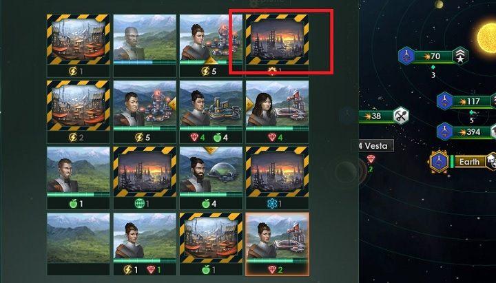 Zablokowane sektory planety są oznaczone charakterystyczną ramką - Zajmowanie układów i kolonizacja planet - Dobry start - Stellaris - poradnik do gry