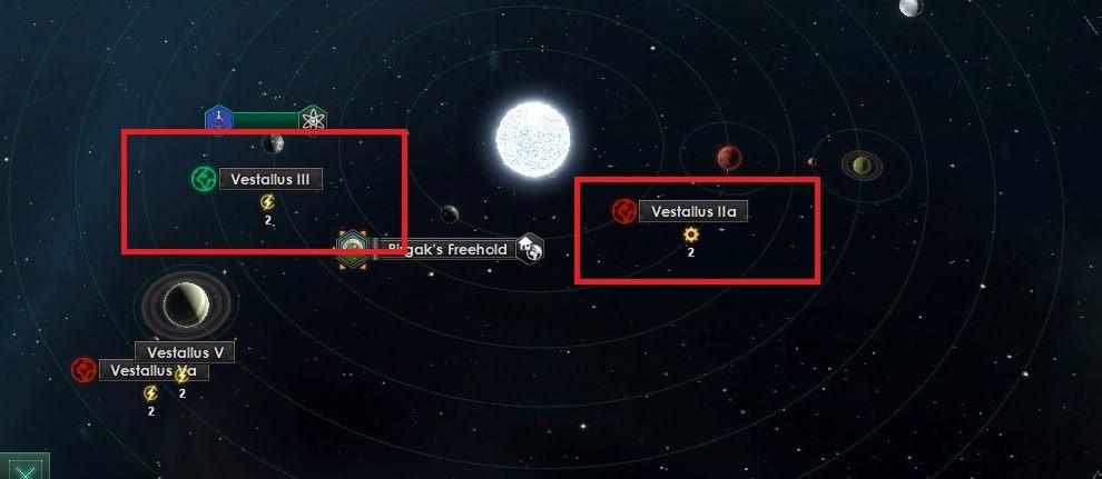 Statek badawczy w toku badań może odkryć planety, które można skolonizować - Zajmowanie układów i kolonizacja planet - Dobry start - Stellaris - poradnik do gry