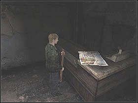 Po wyjściu z przyczepy udaj się na północ ulicą Neely aż do skrzyżowania z ulicą Katz - Południowe Silent Hill - Silent Hill 2 - poradnik do gry