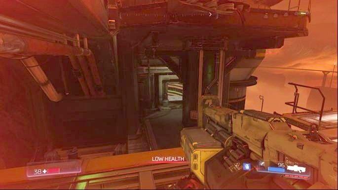 Odblokujesz w ten sposób Klasyczną mapę, która znajduje się napo niżej - Obiekt Argentu (zniszczony) | Opis przejścia - Doom - poradnik do gry