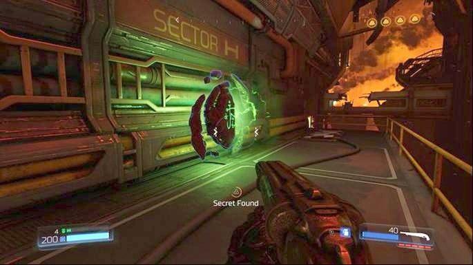 Zaprowadzi cię on do Wyzwania Runy - Ofensywa pancerna - Obiekt Argentu (zniszczony) | Opis przejścia - Doom - poradnik do gry