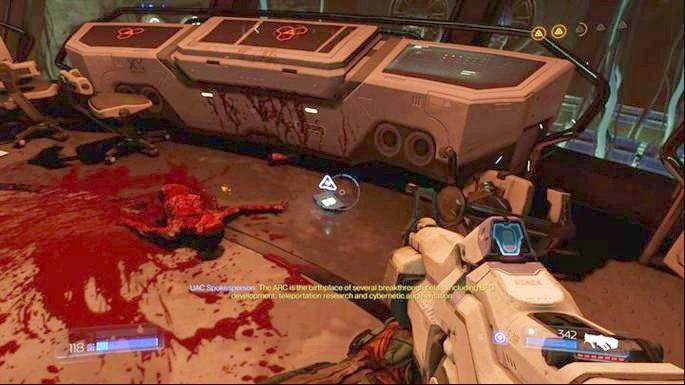Drugi będzie w Server Room - Kompleks Badań | Opis przejścia - Doom - poradnik do gry