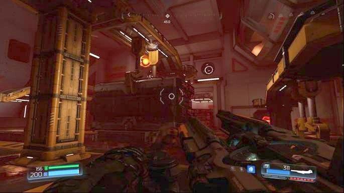 Po drugiej stronie znajduje się lokacja z Gniazdem Juchy - Laboratoria Lazarus | Opis przejścia - Doom - poradnik do gry