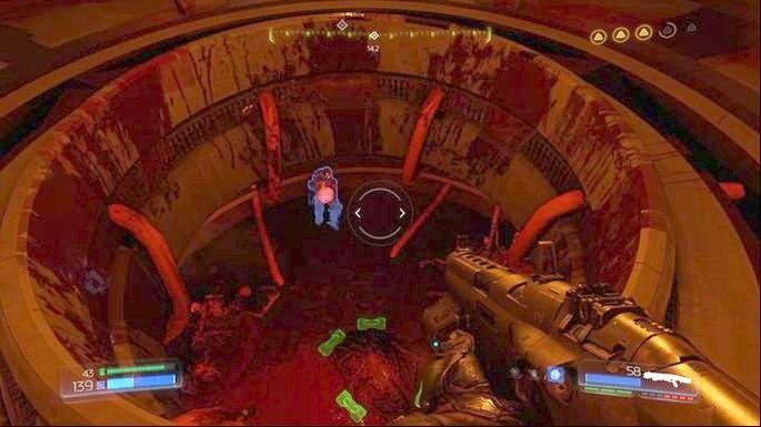 Pociągnij ją i zeskocz poziom niżej - Laboratoria Lazarus | Opis przejścia - Doom - poradnik do gry