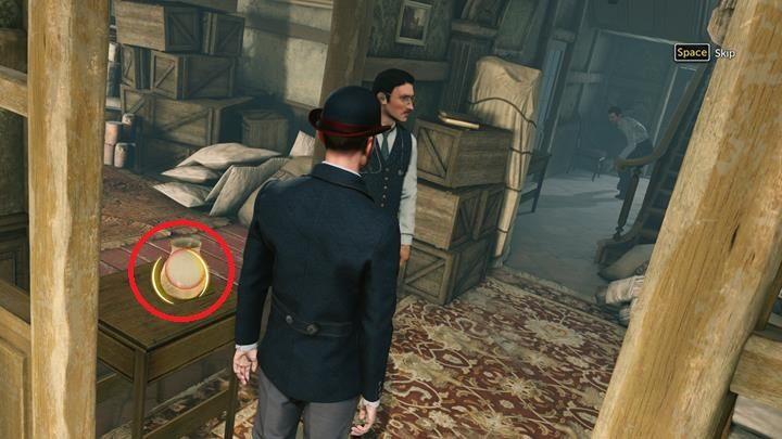 Zakradnij się na tył posesji i spróbuj otworzyć drzwi - Dom Lorda Marsha i analiza chusty - Prey Tell / Ofiarna opowieść - Sherlock Holmes: The Devils Daughter - poradnik do gry