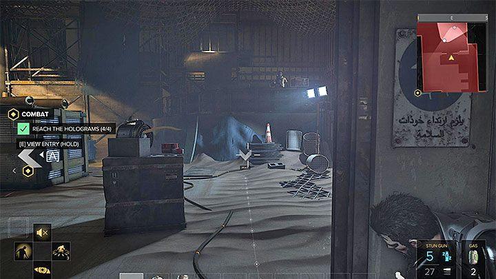 Warto zaczekać aż wrogowie zakończą rozmowę - Zakupy na Czarnym Rynku - główne zadanie - Dubaj - Deus Ex: Rozłam Ludzkości - poradnik do gry