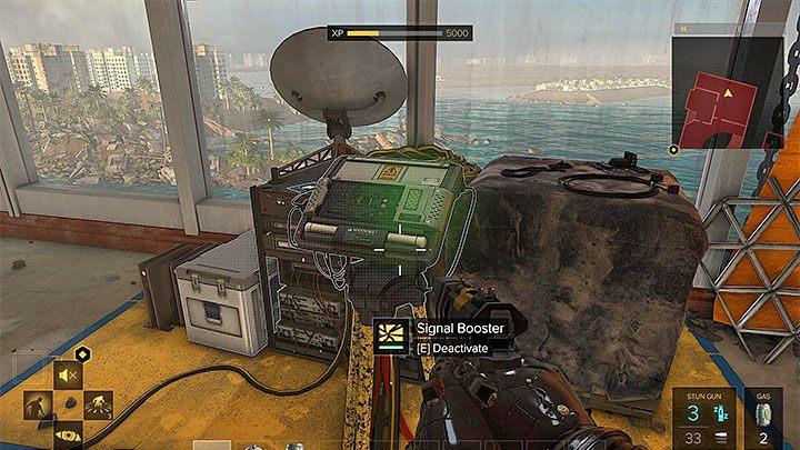 Wzmacniacz sygnału powiązany z dodatkowym celem misji - Zakupy na Czarnym Rynku - główne zadanie - Dubaj - Deus Ex: Rozłam Ludzkości - poradnik do gry