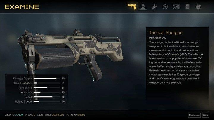 Strzelba taktyczna z maksymalnymi parametrami - Bronie (opis i lokalizacje) - Zestawienia - Deus Ex: Rozłam Ludzkości - poradnik do gry