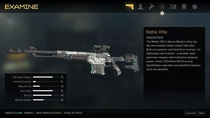 Jednostrzałowy karabin bojowy sprawdza się na średnim i dużym dystansie - Bronie (opis i lokalizacje) - Zestawienia - Deus Ex: Rozłam Ludzkości - poradnik do gry