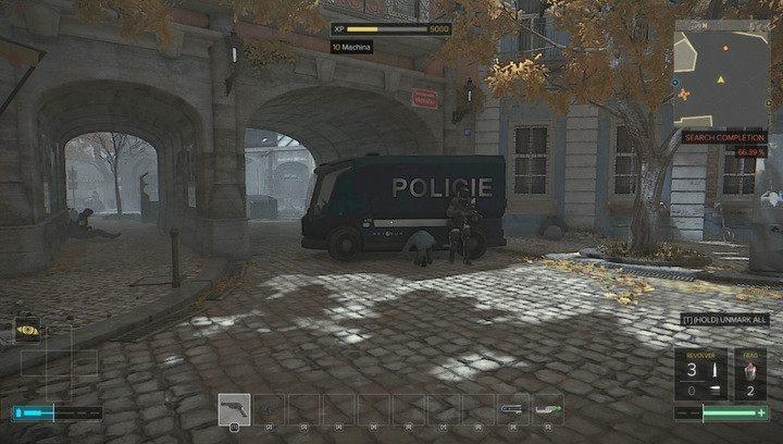 Furgonetka policyjna z granatnikiem w środku - Bronie (opis i lokalizacje) - Zestawienia - Deus Ex: Rozłam Ludzkości - poradnik do gry