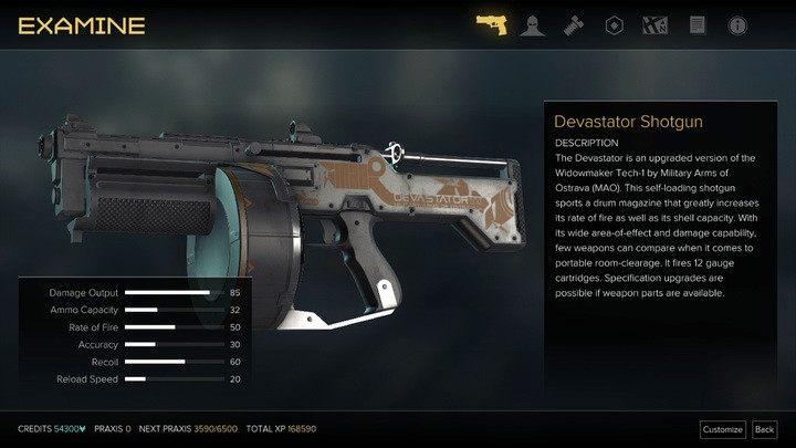 Nie różni się dużo od tradycyjnej strzelby przy maksymalnym ulepszeniu - Bronie (opis i lokalizacje) - Zestawienia - Deus Ex: Rozłam Ludzkości - poradnik do gry