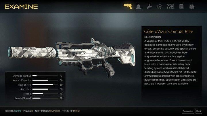Karabin szturmowy korzystający z elektrycznej amunicji - Bronie (opis i lokalizacje) - Zestawienia - Deus Ex: Rozłam Ludzkości - poradnik do gry