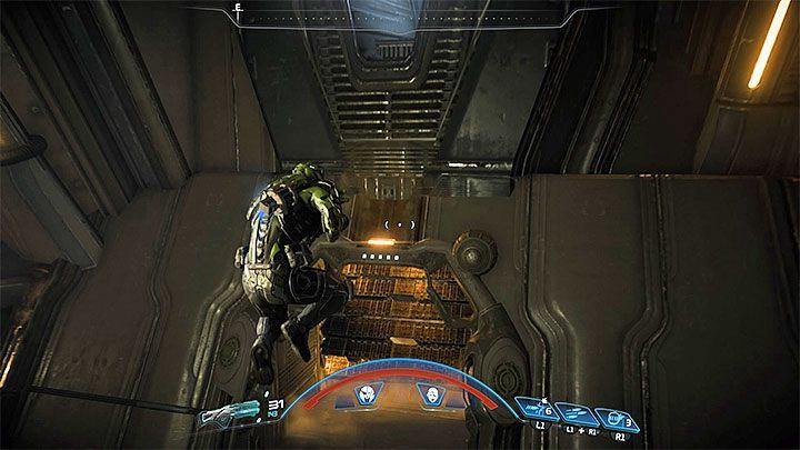 Udaj się do nowo odblokowanego południowego przejścia i zacznij przebijać się przez kolejne sekcje bazy - Ścieżka nadziei (A Trail of Hope) | Operacje priorytetowe - Mass Effect: Andromeda - poradnik do gry