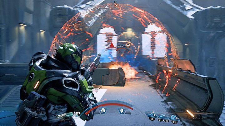 Dość uciążliwy są również ataki Kardynał polegające na wysyłaniu pola energetycznego (przykład na powyższym obrazku) - Ścieżka nadziei (A Trail of Hope) | Operacje priorytetowe - Mass Effect: Andromeda - poradnik do gry