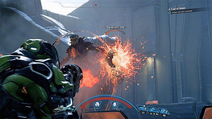 Kardynał zalicza się do grupy kettów zwanych ascendentami i oznacza to, że jest domyślnie otoczona polem siłowym - Ścieżka nadziei (A Trail of Hope) | Operacje priorytetowe - Mass Effect: Andromeda - poradnik do gry