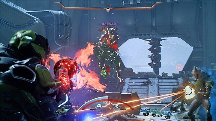Atakuj bezbronną Kardynał polegając na najsilniejszych broniach i mocach - Ścieżka nadziei (A Trail of Hope) | Operacje priorytetowe - Mass Effect: Andromeda - poradnik do gry