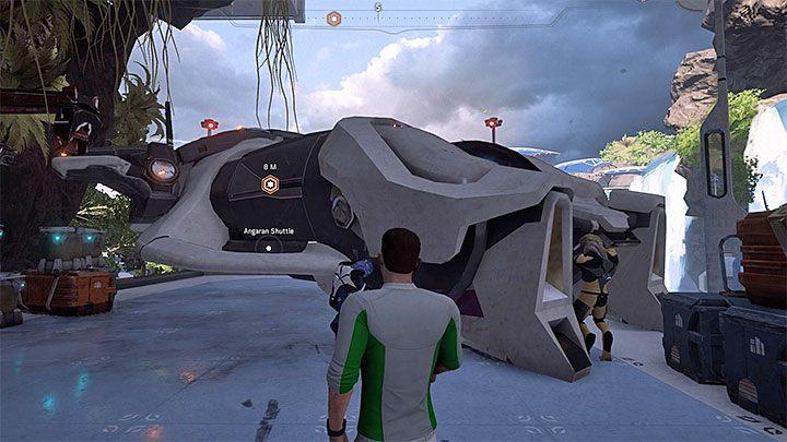 Z promu możesz skorzystać w każdej chwili - Ścieżka nadziei (A Trail of Hope) | Operacje priorytetowe - Mass Effect: Andromeda - poradnik do gry