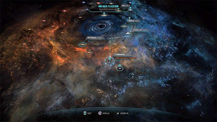 Galaktyka Faroang jest w południowej części Gromady Helejosa - Pomoc naukowcom z Havarl (Helping Havarls Scientists) | Operacje priorytetowe - Mass Effect: Andromeda - poradnik do gry