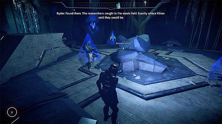 Lokacja z monolitem i uwięzionymi badaczami - Pomoc naukowcom z Havarl (Helping Havarls Scientists) | Operacje priorytetowe - Mass Effect: Andromeda - poradnik do gry