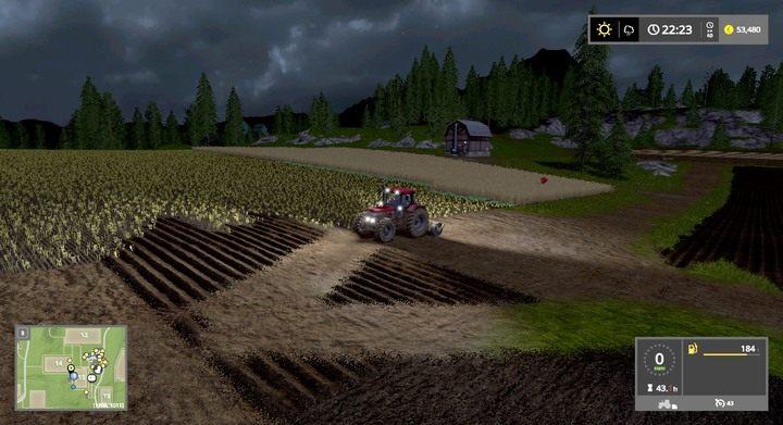 Używając walca możesz dowolnie modyfikować istniejące działki - Tworzenie i łączenie pól - Dla początkujących - Farming Simulator 17 - poradnik do gry