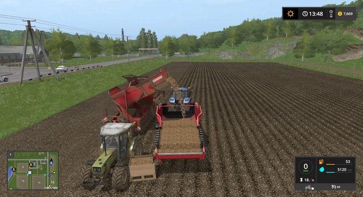 Как собирать картофель в farming simulator 2018