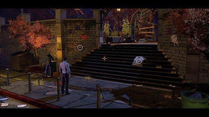 Po rozpoczęciu rozdziału zobaczysz powyższy obrazek - Chapter 3 - Meet the Press | Realm of Shadows - Batman: The Telltale Games Series - poradnik do gry