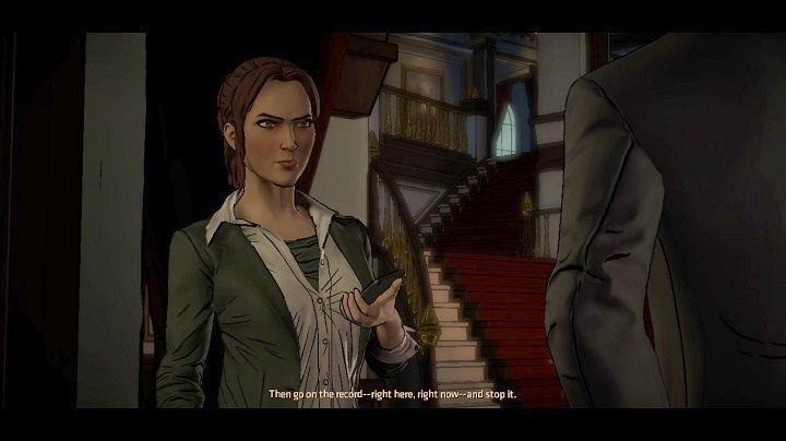 Opcje dialogowe - Chapter 4 - Worlds Greatest Detective   Realm of Shadows - Batman: The Telltale Games Series - poradnik do gry