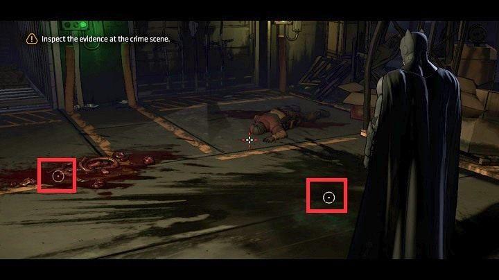 Po uzyskaniu kontroli nad bohaterem zobaczysz powyższy widok - Chapter 4 - Worlds Greatest Detective | Realm of Shadows - Batman: The Telltale Games Series - poradnik do gry
