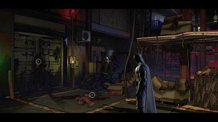 Po obejrzeniu scenki, która będzie wynikała z powiązania elementów, zobaczysz powyższy ekran - Chapter 4 - Worlds Greatest Detective | Realm of Shadows - Batman: The Telltale Games Series - poradnik do gry