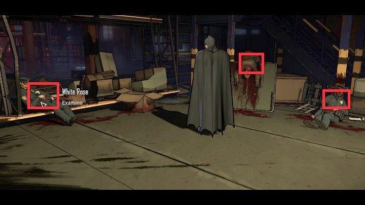 Po osiągnięciu wymaganej pozycji, powinieneś zobaczyć powyższy widok - Chapter 4 - Worlds Greatest Detective | Realm of Shadows - Batman: The Telltale Games Series - poradnik do gry