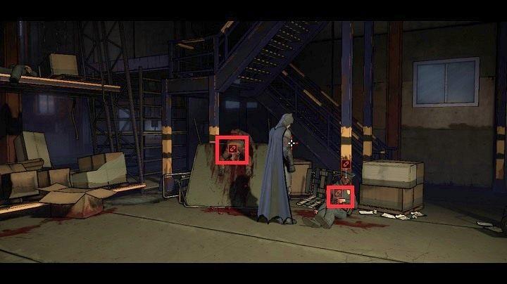Połącz dłonie policjanta z głową najemnika - Chapter 4 - Worlds Greatest Detective | Realm of Shadows - Batman: The Telltale Games Series - poradnik do gry