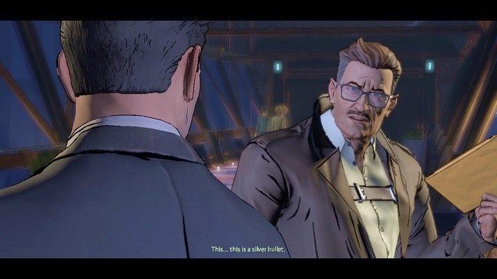 Gordon przyjmuje dokumenty, ale zaznacza, że nie będzie to miało wpływu na śledztwo, które prowadzi przeciwko tobie - Chapter 5 - Room with a View | Realm of Shadows - Batman: The Telltale Games Series - poradnik do gry