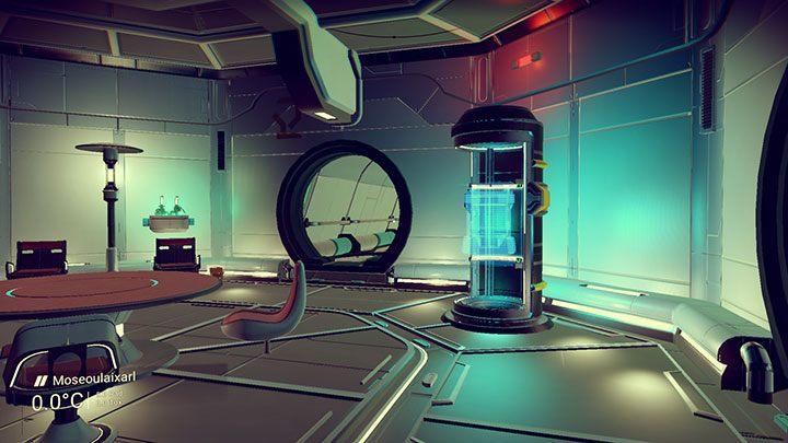 Pomieszczenie za drzwiami, wymagającymi Atlaspass w1 - Atlaspass w1 | Ścieżka Atlasa - No Mans Sky - poradnik do gry