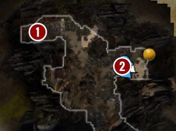 W pierwszej turze znajdziesz go na drewnianym podeście[1] - Withermoores Soul Jar | Fort Joy - Divinity: Original Sin II - poradnik do gry