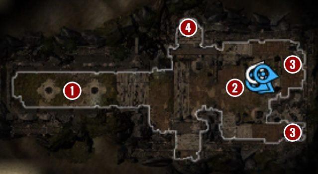 Drogę blokują dwie pułapki z trucizną[1] - Withermoores Soul Jar | Fort Joy - Divinity: Original Sin II - poradnik do gry