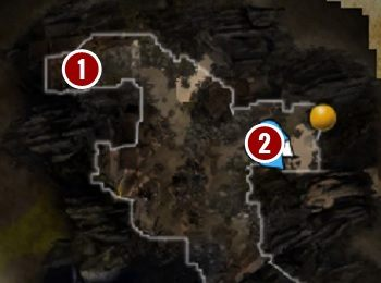W pierwszej turze znajdziesz go na drewnianym podeście[1] - Flakon duszy Withermoorea | Fort Joy - Divinity: Original Sin 2 - poradnik do gry