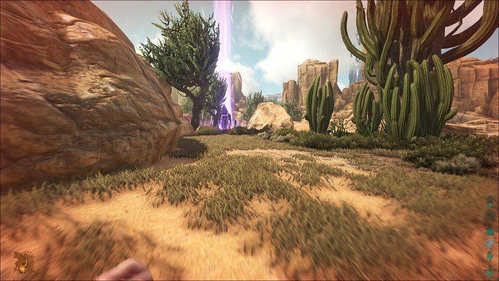W fioletowym zrzucie przedmioty z wytrzymałością i bez wytrzymałości mają 50% szansy na bycie blueprintem lub zwykłym przedmiotem - Rodzaje zrzutów | Mapa świata, zrzuty i bossowie - ARK: Survival Evolved - poradnik do gry