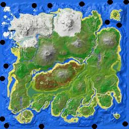 1 - Rodzaje zrzutów | Mapa świata, zrzuty i bossowie - ARK: Survival Evolved - poradnik do gry