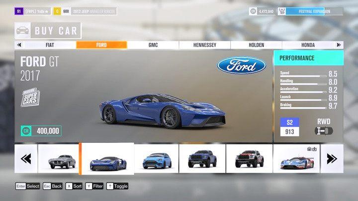 W salonie możesz przeglądać pojazdy i zakupić je od ręki. Nie znajdziesz tu jednak każdego wozu w grze. - Nabywanie pojazdów - Podstawy rozgrywki - Forza Horizon 3 - poradnik do gry