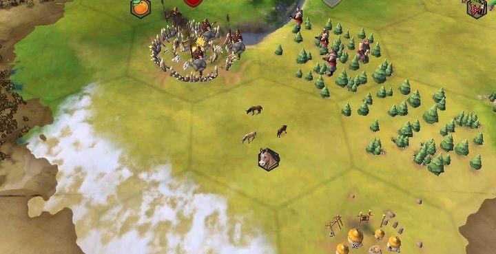Wioski plemienne bardzo często znajdziesz w pobliżu osad barbarzyńców. - Wioski plemienne - Świat gry - Sid Meiers Civilization VI - poradnik do gry